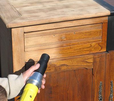 Decapage meuble stunning with decapage meuble excellent - Repeindre des volets en bois sans decaper ...