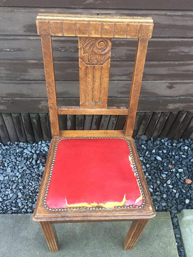 Restauration et Transformation de chaises et fauteuils