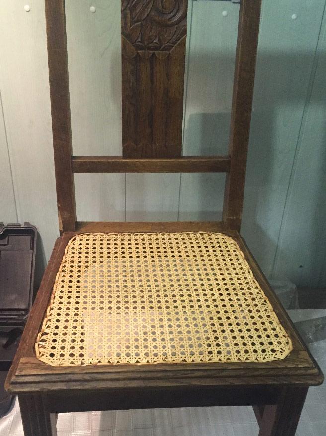 réparer chaises abîmées